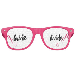 Bride (Bridal Party Set) Retro Sunglasses
