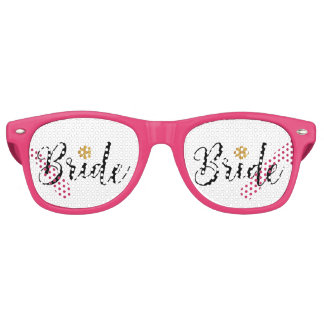 Bride Bridal Shower  Wedding Elegant Party Sunglasses