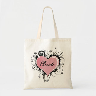 Bride Canvas Tote Bag