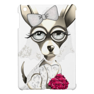 Bride Chihuahua iPad Mini Cover