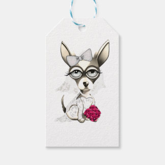 Bride Chihuahua Pack Of Gift Tags
