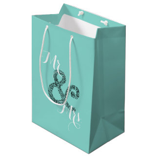 BRIDE & CO Autumn Wedding Mr & Mrs Party Gift Bag