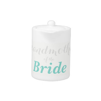 BRIDE & CO Grandmother Of The Bride Party Teapot