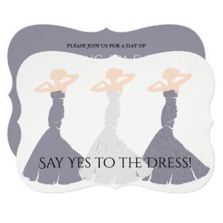 BRIDE & CO Lavender Bridesmaid Invitation