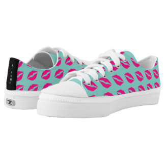 BRIDE & CO Love Pink Something Blue Kiss Sneakers