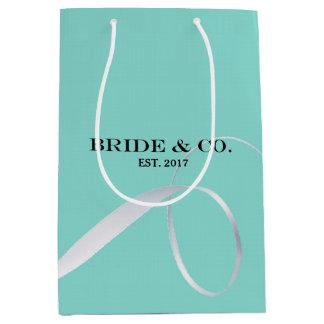 BRIDE & CO Shower Ribbon Party Gift Bag