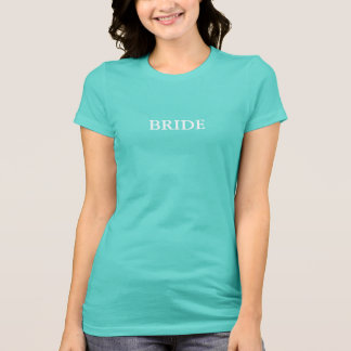 BRIDE & CO Shower White Bride T-Shirt