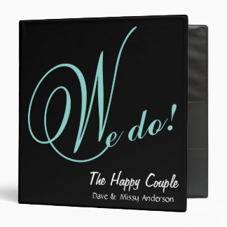 BRIDE & CO The Happy Couple We Do Planner Binder