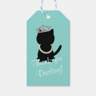 BRIDE & CO Tiffany Cat Tiara Party Gift Tags