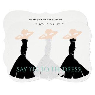 BRIDE & CO Wedding Dress Shopping Invitations