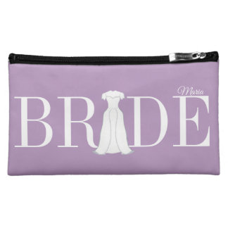 Bride Cosmetic Bag Personalized