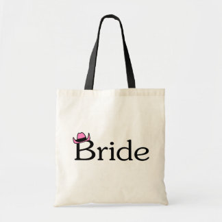 Bride (Cowboy Hat) Tote Bags