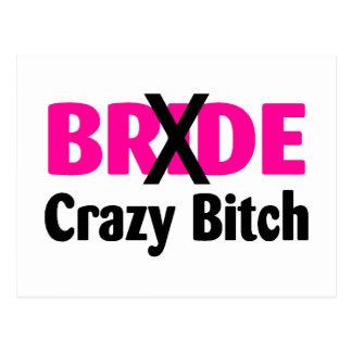 Bride Crazy Post Cards