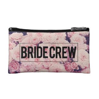 Bride crew makeup bag