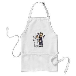 Bride Dances With Father Daughter Wedding Dance Standard Apron