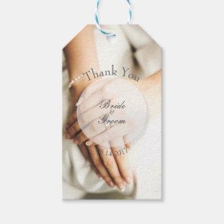 Bride Diamond Ring Photography Editable Wedding Gift Tags