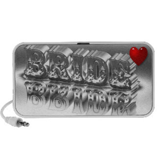 Bride Doodle Speaker MP3