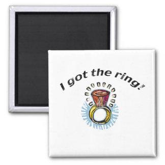Bride Engagement Favors Magnets