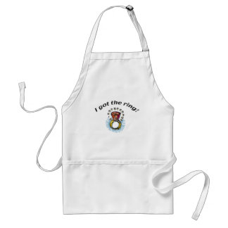 Bride Engagement Gifts and T-shirts Adult Apron