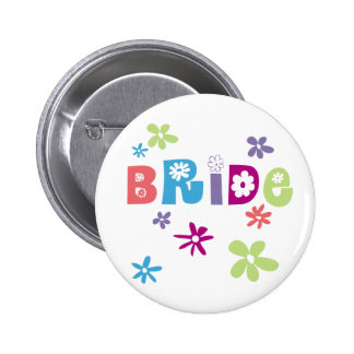 Bride Favors and Gifts Pinback Buttons