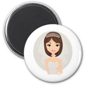 Bride final fridge magnets