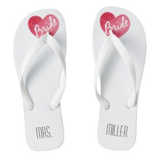 Bride Flip Flops Beach Bachelorette