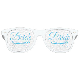 Bride Flourish Blue Sunglasses