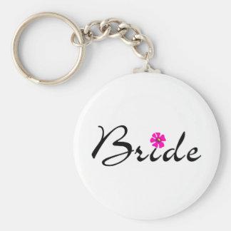 Bride Flower Key Chain