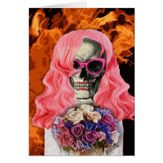 Bride from hell card
