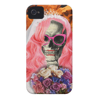 Bride from hell iPhone 4 Case-Mate cases