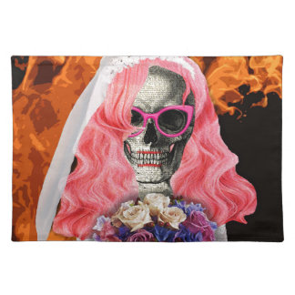 Bride from hell placemat