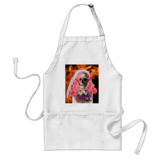 Bride from hell standard apron