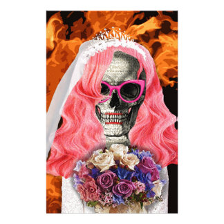 Bride from hell stationery