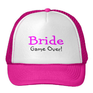 Bride Game Over Hat