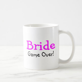Bride Game Over Mugs