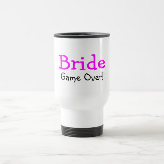 Bride Game Over Coffee Mugs