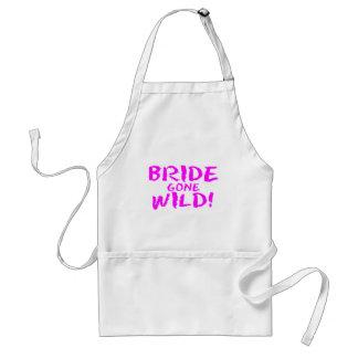 Bride Gone Wild! Standard Apron