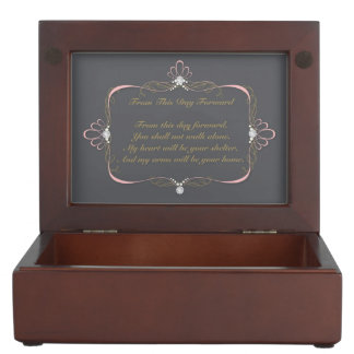Bride/Groom Wedding Day Keepsake Box