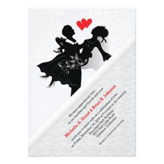 Bride & Groom Wedding Invitation