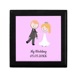 bride groom wedding team gift box