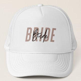 Bride Hat | Mrs Hat | Bachelorette Hat - Dark Pink