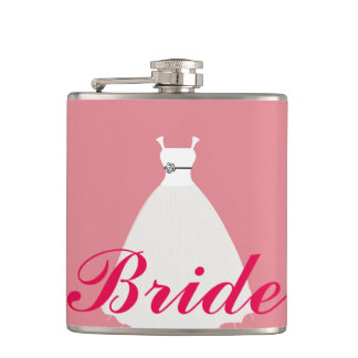 Bride Hip Flask
