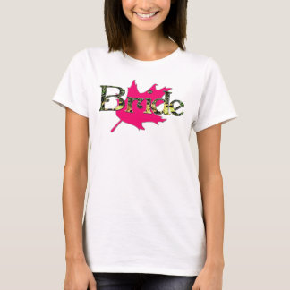 Bride Hunting Camo Pink Oak Bachelorette Shirt
