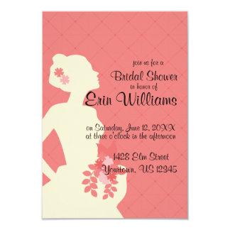 Bride in Dress Diamonds Bridal Shower Invitation