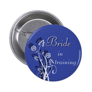 Bride in Training Pin - Dark Blue