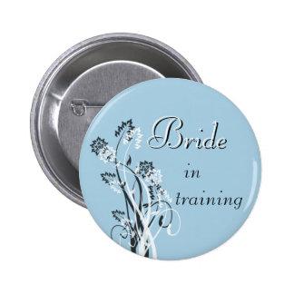 Bride in Training Pin - Light Blue