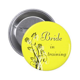 Bride in Training Pin - Yellow
