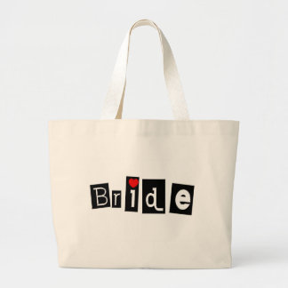 Bride Large Tote Bag