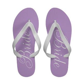 Bride lavender sandals
