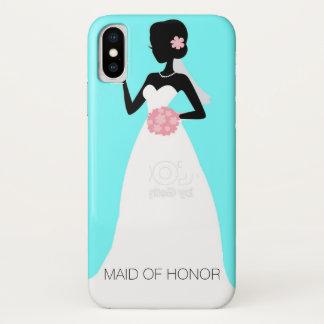 Bride, Maid of Honor, or Bridesmaid's Phone Case